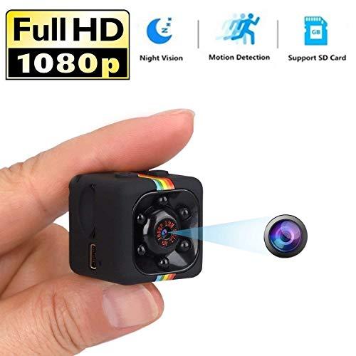 MYXMY Spy Alarm versteckte Kameras 1080P Video Recorder Kamera für Indoor Home Security Überwachung Nanny Cam mit Nachtsicht und Bewegungserkennung (größe : 32G Memory Card) Security Spy Cam Kamera