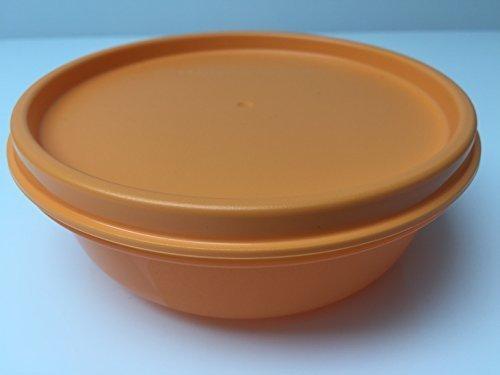 Tupperware Hitparade verschiedene Farben 300ml Dose mit Deckel auslaufsicher (orange)
