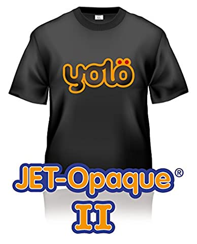 10 x A4 Sheets of Jet-Opaque® II Inkjet Heat Transfer Paper / T-Shirt Transfers