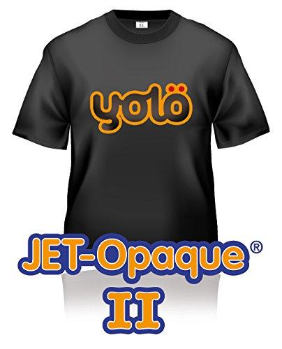 yolö creative 100 x fogli a4 di jet-opaque ii a getto d'inchiostro termico della carta di trasferimento t-shirt/trasferimenti