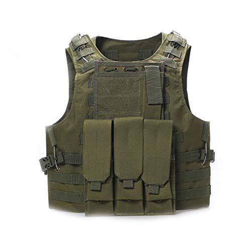 LY-01 Chaleco táctico Militar Chaleco táctico Anfibio de fanático del ejército, Equipo...