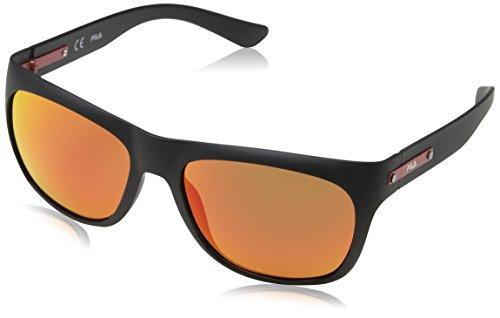 Fila, Gafas de Sol para Hombre, Negro (Semi Matt Black),...