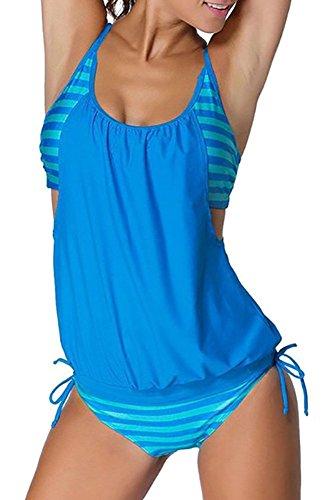 Zevonda premaman tankini - sexy moda bikini della spiaggia costume da bagno estate moda mare donne takini, stile-5, eu l=tag xl