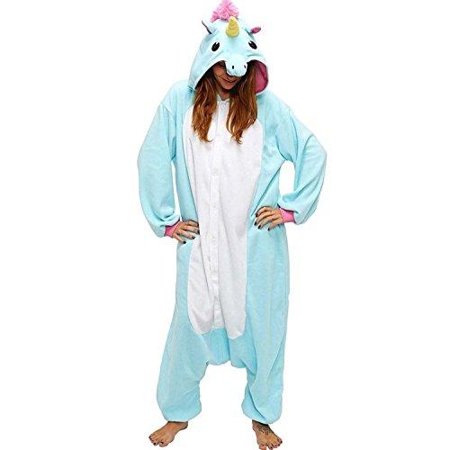 AKABELA-Animal-Disfraz-Unicornio-Pijama-Disfraces-Mono-Adulto-Ropa-de-Dormir-Unisexo-Cosplay