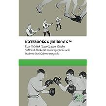 Carnet Notebooks & Journals, Boxe (Collection Vintage), Large, Blanc: Couverture souple (13.97 x 21.59 cm)(Carnet de Notes, Carnet de Voyage, Cahier de Texte)