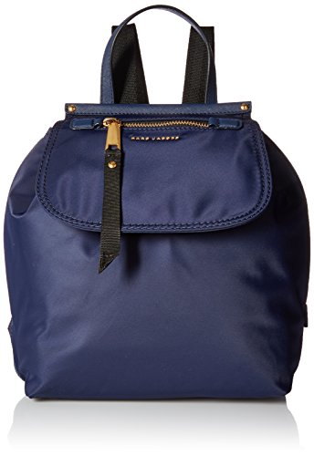 Marc Jacobs Damen Trooper Rucksack, Blau (Midnight Blue), 14x30x25 cm