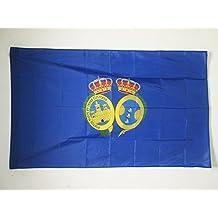 BANDERA de la PROVINCIA DE HUELVA 150x90cm para palo - BANDERA HUELVA ENANDALUCÍA 90 x 150 cm - AZ FLAG