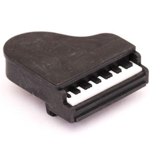 schwarzer Klavier Flügel Radiergummi von Iwako aus Japan