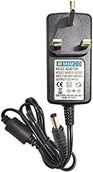 12V 1 Amp. Power Adapter — AC110-220V Input Range