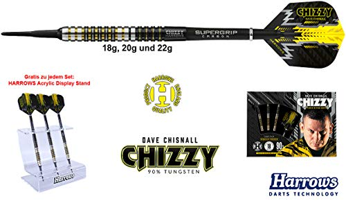 Harrows Darts Dave Chisnall Chizzy 90% Tungsten Softdarts 22g