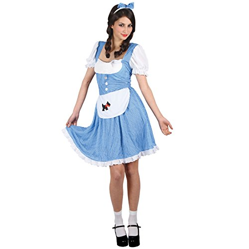 Oz Hexe Kostüm Der Von Zauberer - Dorothy Country Girl - Adult Ladies Costume Lady: M (UK:14-16)