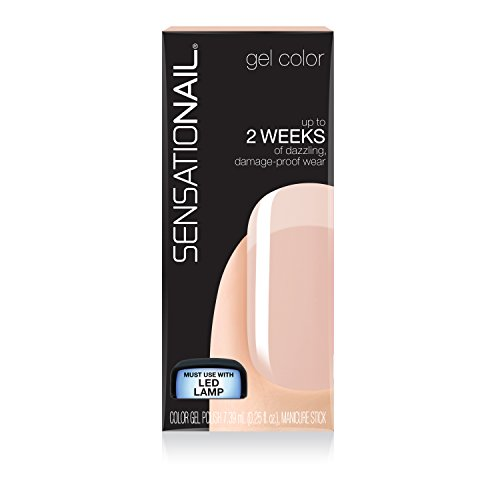 Fing'rs Sensationail Gel Color Barely There Esmalte
