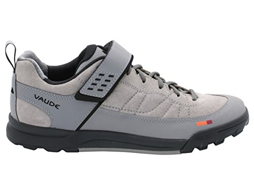VAUDE Moab Low Am, Chaussures de VTT mixte adulte Gris - Grau (023 pebbles)