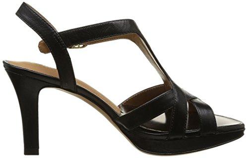 Clarks Delsie Risa, Escarpins femme Noir (Black Leather)