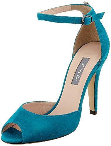 Fawn, Zapatos de Tacón para Mujer, Rosa (Pearl Pink Patent), 37.5 EU SJP by Sarah Jessica Parker