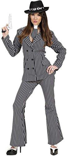 Imagen de widman  disfraz de gánster años 20 para mujer, talla m s/72272