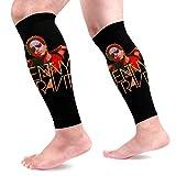 Bikofhd Manchons Compression Veau Leg Performance Support Lenny Kravitz Leg Support Socks for Women Men 1 Pair
