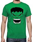 The Fan Tee Camiseta de Hombre Hulk Vengadores La Masa Comic XL