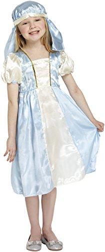 Mary Mädchen Krippe Weihnachten Kostüme Kostüme Alter 7-9