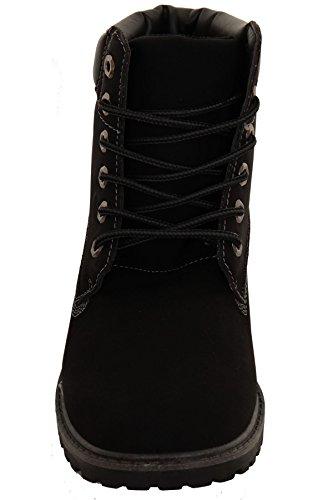 À Punk Noir Boutique Femmes Combat Décontractées Chaussures Bottines q8xBt0w