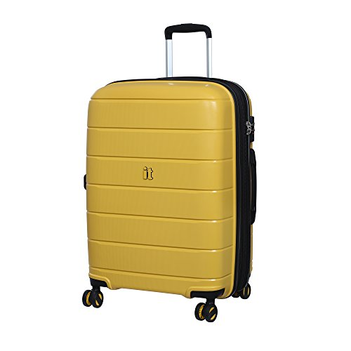 it luggage Asteroid Koffer, 66 cm, 119 liters, Gelb (Cheese Yellow)