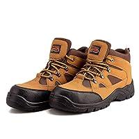 Men`s Dessert Steel Toe Boots Combat Safety Work Boots