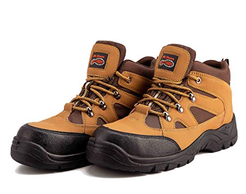 Men`s Dessert Steel Toe Boots Combat Safety Work Boots (8 UK)