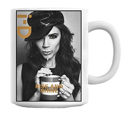 Victoria Beckham Fashion Cute Mug Cup