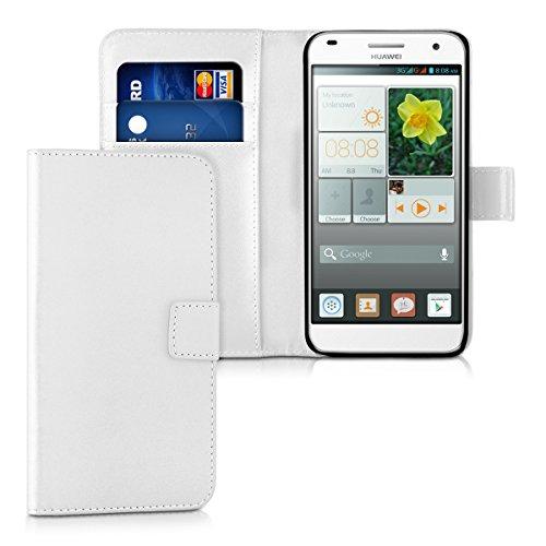 kwmobile Huawei Ascend G7 Custodia Portafoglio - Cover a Libro in...