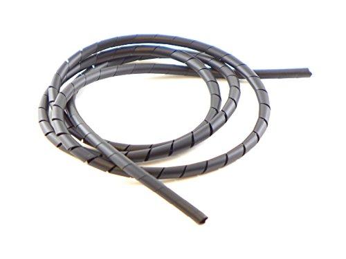 Preisvergleich Produktbild Muldental 61105 Spiralschlauch 5-50 mm schwarz,  1 m Beutel
