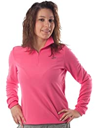 Lotto Sweat Amy Pile M6776 Femme Polaire Half Zip Fuchsia