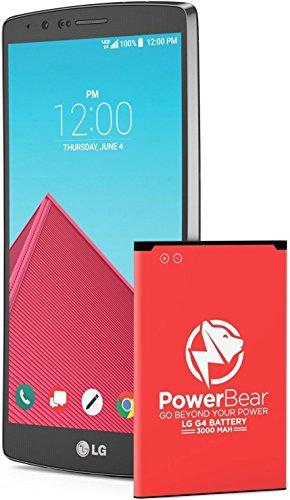 für LG G4 Akku | LG G4 Batterie | AKTUALISIERT 3000mAh Li-Ion Batterie für das LG G4 [H525N, H815, H735, H635] | G4 Ersatzbatterie [24 Monate Garantie] ()