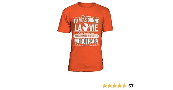 TEEZILY T-Shirt Homme Je n/'AI Pas Choisi d/'/être r/éunionnais j/'AI Juste EU de la Chance !