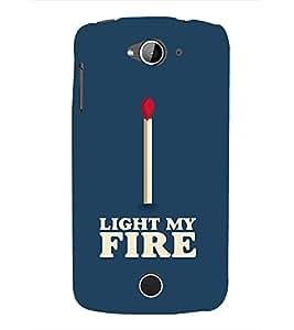 PrintVisa Light My Fire 3D Hard Polycarbonate Designer Back Case Cover for Acer Liquid Z530 :: Acer Liquid Z530S