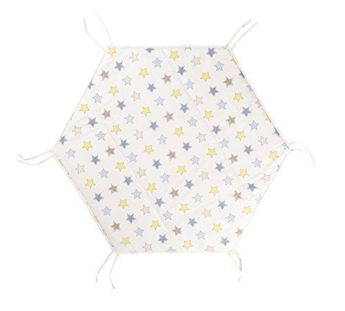 Hochstühle Babys Decken Für (Geuther - Krabbeldecke für Laufgitter Matrix klein, sterne)