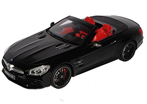 Preisvergleich Produktbild Mercedes-Benz SL-Klasse SL63 AMG R231 Cabrio Schwarz Modell Ab 2012 Ab Modellpflege 2016 Nr 117 1/18 GT Spirit Modell Auto