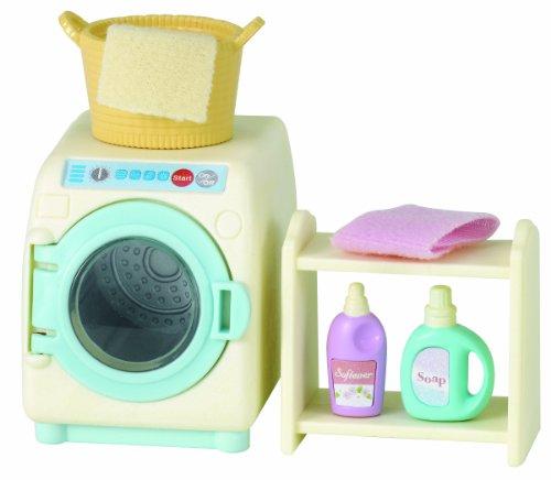 Preisvergleich Produktbild Sylvanian Families 5027 Waschmaschinen Set, Puppenzubehör