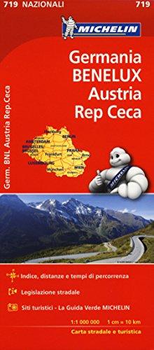 Germania, Benelux, Austria, Repubblica Ceca 1:1.000.000