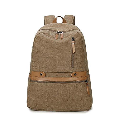 Retro Canvas voyage sac à dos multifonctionnel loisir Backpack alpinisme randonnée Camping Pack sac à main bandoulière