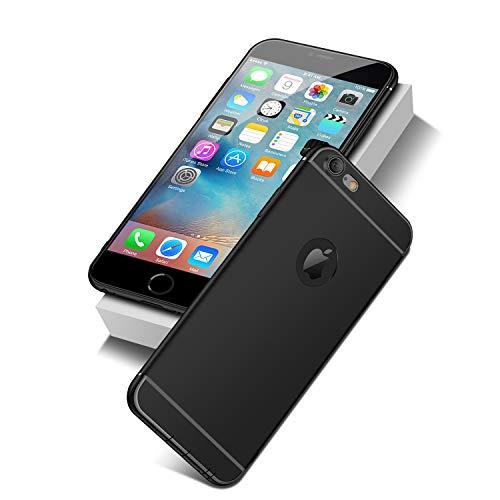 NEW'C Cover per iPhone 6, iPhone 6s, Custodia Gel Trasparente Morbida Silicone Sottile TPU [Ultra Leggera e Chiaro]