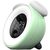 LEDMOMO Nachtlicht Lichtwecker Touch Control Digital Sunrise Wecker mit bunten Nachtlicht (grün) preisvergleich bei billige-tabletten.eu