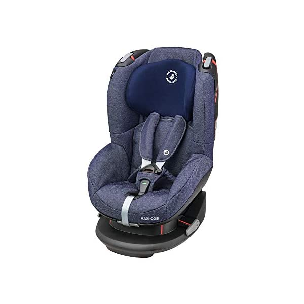 Maxi-Cosi Tobi Toddler Car Seat Group 1, Forward-Facing Reclining Car Seat, 9 Months-4 Years, 9-18 kg, Sparkling Blue Maxi-Cosi Forward facing group 1 car seat suitable for children from 9 to 18 kg (approx. 9 months to 4 years) Install with a 3-point car seat belt, with clear and intuitive seat belt routing High seating position allows toddler to watch outside the window 1