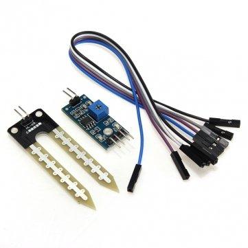 Bheema - Hygromètre - Capteur sol d'humidité - Module de détection d'humidité pour Arduino