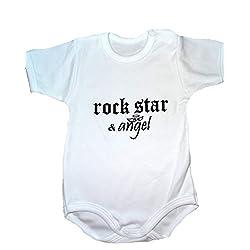 Body para beb Rock Star...