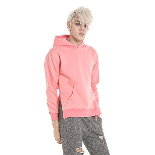 Pizoff Unisex Hip Hop Urban Basic Design Sweatschirts Kapuzenpullover Y1568