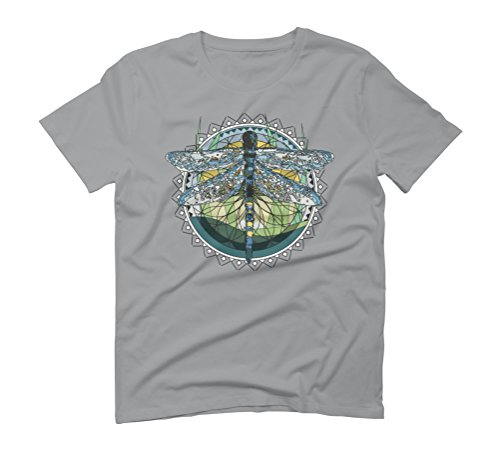 Modern abstract dragonfly Men's Graphic T-Shirt - Design By Humans Opal