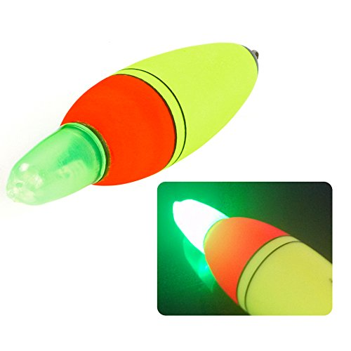 5 x flotador luminoso electrónico