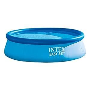 Intex 28132NP - Piscine - Kit Piscinette Easy Set 3,66 X 0,76 M - Autostable - Épurateur À Cartouche 2M3/H Inclus
