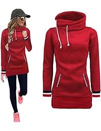Sonnena Sweat-shirt Femme a capuche fille Sport pull femme hiver chic mode  Manteau Vetement Femme Pas Cher Fashion Chemisier Blouse… d1cbc94dfafb