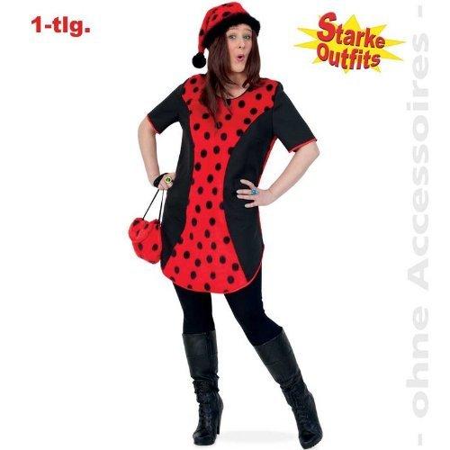 (Gurimo-Tex 10444 Damen Kostüm Marienkäfer Big Mary große Größen (50))